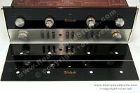 McIntosh MA230 front glass replacement upper panel plate new acrylic version