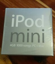 Factory Sealed ~ Apple iPod mini 2nd GEN 4GB Silver WITH iPod mini Dock