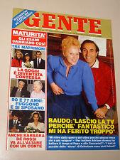 GENTE 1988/3=KATIA RICCIARELLI=LICINIA LENTINI=BARBARA DE ROSSI=RACHEL WARD=