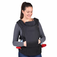 Mountain Buggy Juno Baby Carrier in Black New Includes Infant Insert! Free Ship!