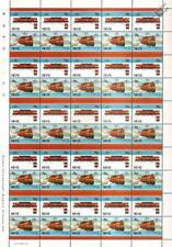 1919 Milwaukee Road Class EP-2 Bi-Polar Train 50-Stamp Sheet / LOCO 100 LOTW