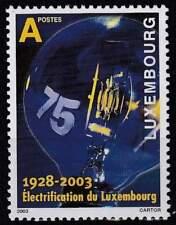 Luxemburg postfris 2003 MNH 1610 - Electriciteitsnet 75 Jaar
