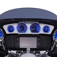 Ciro Chrome LED Inner Faring Dress Up Package For Harley Touring