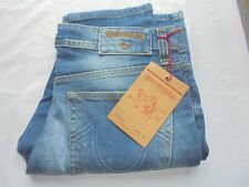 True Religion Jeans Blue Stretch Slim Fit Rocco BNWT W:34,L:32(Factory Seconds)
