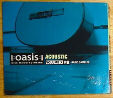 OASIS Acoustic cd RADIO SAMPLER Volume X/10 #8 PROMO NEW and SEALED JAZZ