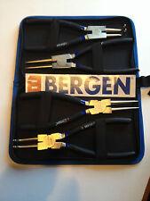 "Bergen 4pc 9"" CIRCLIP PLIERS SET Snap Ring Pliers Internal External B1747"