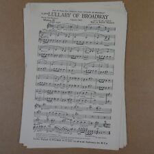 Combo Band pièces Berceuse de Broadway ARR Ted Eastwood