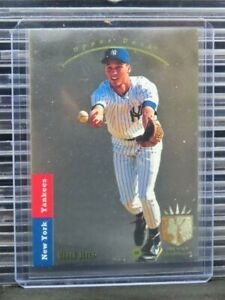 1993 Upper Deck Derek Jeter SP Foil Rookie Card RC #279 Yankees D50