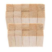 20 Stück Platz Balsaholz Holzblöcke DIY Modellierung Holzbearbeitung