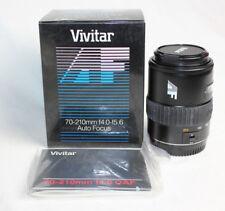 Vivitar AF 70-210mm f/4.0-5.6 For Canon AF 218463 New Open Box