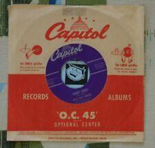 Ella Mae Morse 45 Money Honey / I Love You, Yes I Do 1954 VG++
