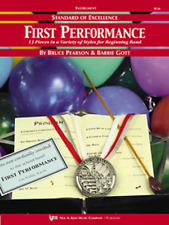 """STANDARD OF EXCELLENCE-FIRST PERFORMANCE FOR """"BARITONE B.C."""" MUSIC BOOK-NEW-SALE"""