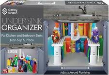 Expandable Under Sink Organizer and Storage   Bathroom Under the Sink Organizer