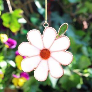 Single Daisy Suncatcher - Window Decoration - Garden Sun Catcher