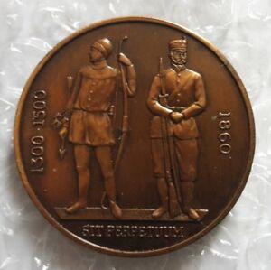 Medal National Rifle Association 1860 Medal to DEVON 1982 Bronze