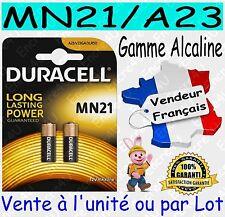 Piles DURACELL A23 MN21 Dispo aussi LR03 LR6 CR2016 CR2025 CR2032 CR2430 CR2450