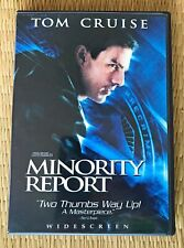 Minority Report Dvd, Widescreen Two-Disc Special Edition