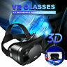 3D Virtual Reality Gaming VR Headset Movie Game Glasses for Mobile Phone