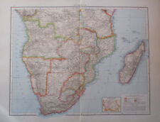 1893 Südafrika - 55x42 cm alte Landkarte Karte old map