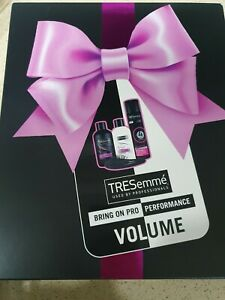 NEW TRESemme Bring On Pro Performance Professional Volume Hair Care Gift Set