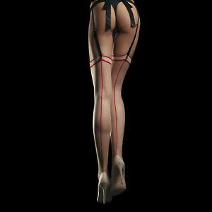 Fiore Madame 20 Sensual Back Seam Thigh High Stockings