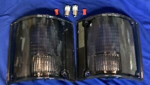 SMOKE Tail light Lenses 73 - 91 Chevy GMC Pickup Suburban Jimmy Blazer C/K C10