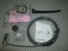 New listing Targus Notebook Security Serialized Combo Cable Lock Model: Pa410S-1 lot of (4)