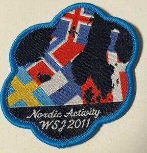 2011 World Jamboree  -Nordic Activity badge