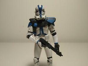 """Star Wars Clone Trooper 501st Legion Commander Appo Saga Collection 3.75"""" Figure"""
