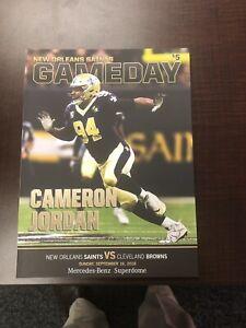 New Orleans Saints Gameday Program Camron Jordan