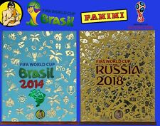 HOBBY SAPIENS GOLD EDITION Binders for WC Brasil 14 & Russia 18 Panini HC albums