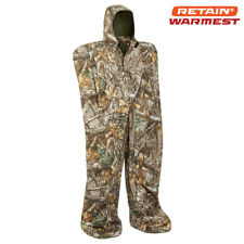 Arctic Shield Hunting Body Suit Suit - Realtree Edge Camo - Harness Included