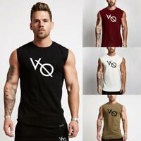 Gym Men Muscle Sleeveless Shirt Tank Top Bodybuilding Sport Fitness Vest M-XXL