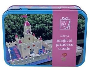 Magical Princess Castle in a Tin - build your very own castle