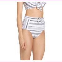 Tommy Bahama Women's microfiber Pretty stripes Lined Bikini Bottom Swimsuit