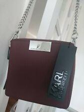 Karl Lagerfeld ladies camera cross wine bag with dust bag BNWT RRP £190