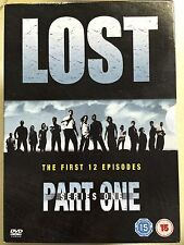 LOST: SEASON 1 PART 1 ~ Classic JJ Abrams Series UK DVD Set
