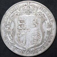 1924 | George V Half-Crown | Silver | Coins | KM Coins