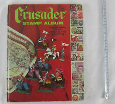 1967 Whitman Crusader Stamp Album for Stamps From Around The World & Handbook