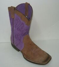 Ariat Western Boots Heritage Cowboy Distressed Brown Uk 6 (US 5.5)