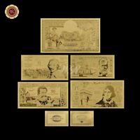 WR Old France Or Billet de banque 5 Pièces 1956 100-10000 Francs
