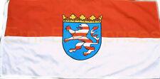Flagge Hessen Fahne Groß 1,5 x 0,9 Meter mit Oesen Bundesland Deutschland #150