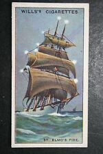 ST ELMO'S FIRE      Vintage Illustrated Card   VGC