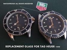 Reemplazo de la Calidad de vidrio para Vintage Tag Heuer 1000 980.020 M 980.020 L 020 N