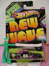 2013  Walmart New Wave #23 '84 PONTIAC GRAND PRIX 1984☆ Black w/Pink☆ Hot Wheels