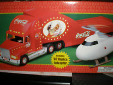 COCA-COLA 2000 HOLIDAY HELICOPTER CARRIER +TRUCK