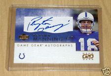 2001 Upper Deck Game Gear Peyton Manning autograph