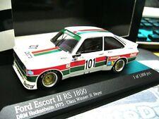 FORD Escort MKII RS1800 Gr.5 DRM Heyer Zakspeed #101 Castrol Minichamps RAR 1:43