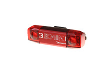 Moon Gemini Rear Cycling Light - LED/USB/Visibility RRP £19 - 30 Lumens