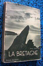 BRETAGNE ARCOAT ARMOR AME LANGUE FETES ART COUTUMES ILLUSTRE LIVRE BOOK